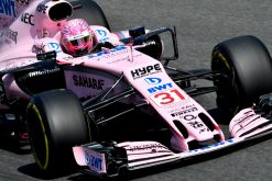 Foto Esteban Ocon tijdens de GP van Italie, F1 Force India Team 2017