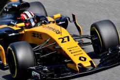 Foto Poster Nico Hulkenberg tijdens de GP van Italie, F1 Renault Team 2017