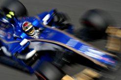 Foto Poster Pascal Wehrlein tijdens de GP van Italie, F1 Sauber Team 2017