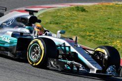 Foto Poster Lewis Hamilton, F1 Mercedes Team 2017