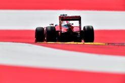 Kimi Raikkonen tijdens de Grand Prix van Oostenrijk 2016.