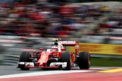 Kimi Raikkonen - Ferrari tijdens de Grand Prix van Oostenrijk 2016