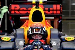 F1 Foto Poster van Max Verstappen tijdens de GP van Oostenrijk, Red Bull Racing 2017