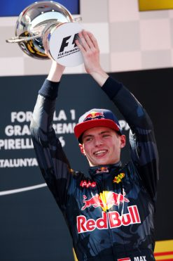 Foto Poster Max Verstappen, Red Bull Racing, F1 Grand Prix Spanje 2016