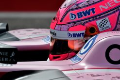 Foto Esteban Ocon tijdens de GP van Amerika, F1 Force India Team 2017