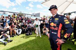 F1 Foto Poster van Max Verstappen tijdens de GP van Australie, Red Bull Racing 2017