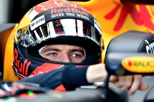 Foto Poster Helm shot Max Verstappen Red Bull Racing GP Australie 2017