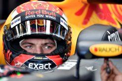 Max Verstappen tijdens de GP van Australie, Red Bull Racing 2017