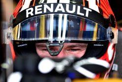 Foto Poster Nico Hulkenberg tijdens de GP van Australie, F1 Renault Team 2017