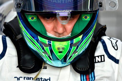 Foto Poster Felipe Massa tijdens de GP van Australie, F1 Williams Team 2017