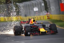 F1 Foto Poster Max Verstappen Red Bull Racing GP Australie 2017