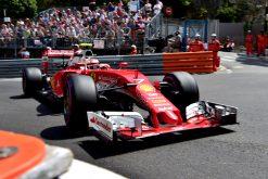 Kimi Raikkonen - Ferrari tijdens de Grand Prix van Monaco 2016