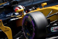 Foto Poster Nico Hulkenberg tijdens de GP van Monaco, F1 Renault Team 2017