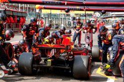 F1 Poster Daniel Ricciardo Red Bull Racing, GP Belgie 2017