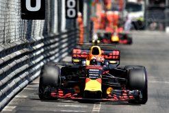 F1 Foto Poster van Max Verstappen tijdens de GP van Monaco, Red Bull Racing 2017