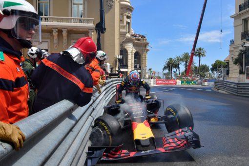 Foto Poster Max Verstappen, Red Bull Racing, F1 Grand Prix Monaco 2016