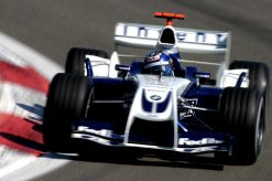 Foto Poster Juan Pablo Montoya in actie, F1 Williams Team 2004