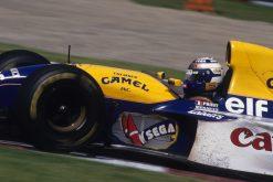 Alain Prost tijdens de Grand Prix van Canada, Formule 1 Seizoen 1993