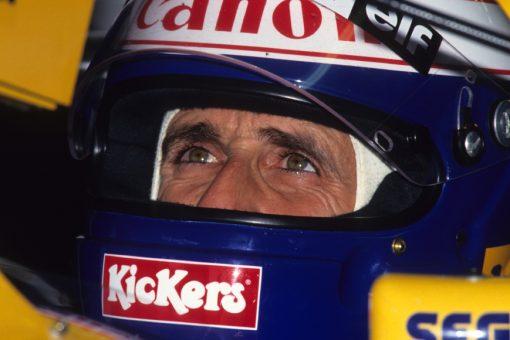 Alain Prost GP Europa 1993 Helm Foto
