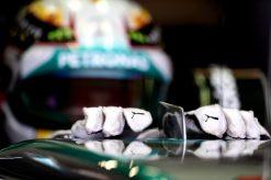 Foto Poster Lewis Hamilton tijdens de GP van Oostenrijk, F1 Mercedes Team 2014