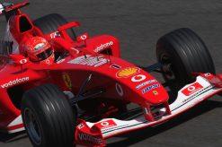 F1 Poster Michael Schumacher, Ferrari 2003