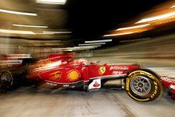 Kimi Raikkonen - Ferrari tijdens de Grand Prix van Bahrein 2014