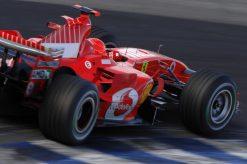 F1 Poster Michael Schumacher in actie, Ferrari 2005