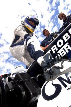 Foto Poster Nico Rosberg in Actie, F1 Williams Team 2008