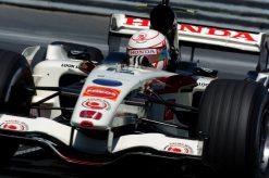 Foto Poster Jenson Button tijdens de GP van Canada, F1 Honda Racing Team 2006
