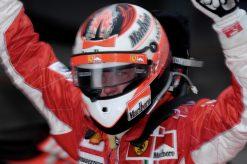 Foto Poster Kimi Raikkonen tijdens de GP van China 2007