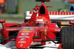 F1 Poster Michael Schumacher winnaar, Ferrari 2006