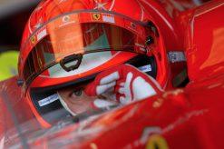 F1 Poster Michael Schumacher Helm-shot, Ferrari 2006