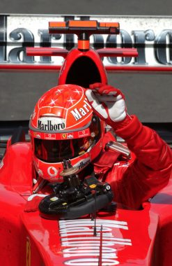 F1 Poster Michael Schumacher, Ferrari 2004