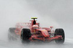 Kimi Raikkonen - Ferrari tijdens de Grand Prix van Europa 2007