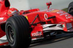 F1 Poster Michael Schumacherin actie, Ferrari 2006