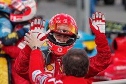 F1 Poster Michael Schumacher winnaar, Ferrari 2004