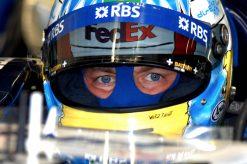 Alexander Wurz tijdens de GP van Hongarije, F1 Willams Team 2006