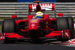 Foto Poster Felipe Massa in actie, F1 Ferrari Team 2009