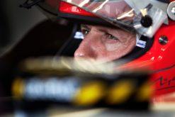 Foto Poster Michael Schumacher Helm-shot, F1 Mercedes Team 2011