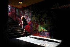 Graffiti Metro Boedapest