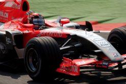 Foto Poster Christijan Albers in actie tijdens de GP van Italie, F1 Midland Team 2006