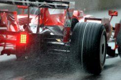 Foto Poster Felipe Massa in actie, F1 Ferrari Team 2008