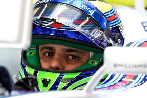 Foto Poster Felipe Massa Helm Shot, F1 Williams Team 2015