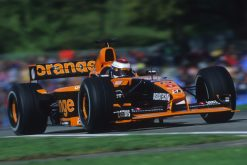 Foto Poster Jos Verstappen tijdens de GP van San Marino, F1 Arrows Team 2001