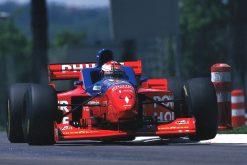 Foto Poster Jos Verstappen tijdens de GP van San Marino, F1 Arrows Team 1996