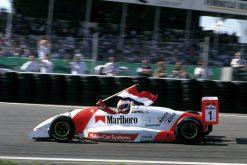 Foto Poster Jos Verstappen Wint de Masters F3 op Circuit Park Zandvoort 1993