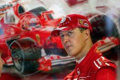 F1 Poster Michael Schumacher Portret, Ferrari 2004