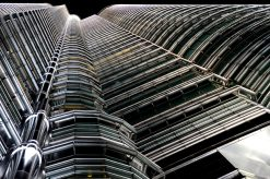 Petronas Towers Kuala Lumpur in Maleisie