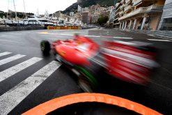 Kimi Raikkonen - Ferrari tijdens de Grand Prix van Monaco 2015.