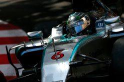 Foto Poster Nico Rosberg in Actie, F1 Mercedes Team 2015